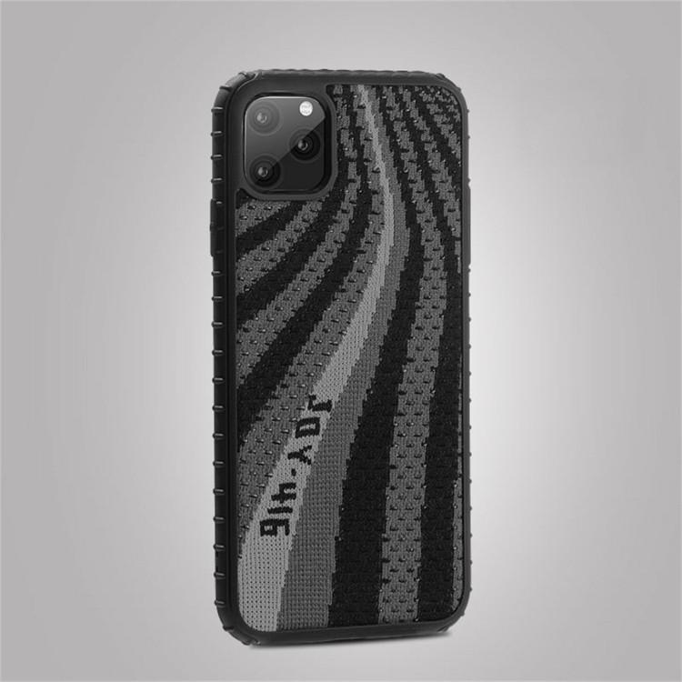 JOYROOM Coconut Series Luminous PC + TPU Protective Case(Black)