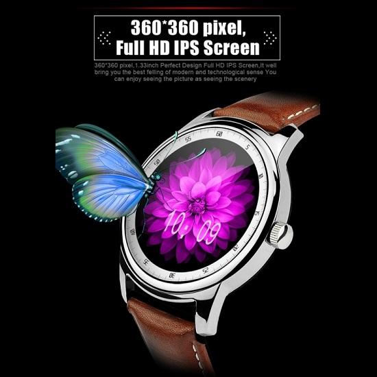 DOMINO DM365 1.33 inch Smart Watch Silver
