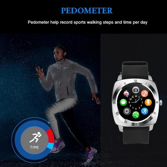 X5 1.33 inch Smart Watch Silver